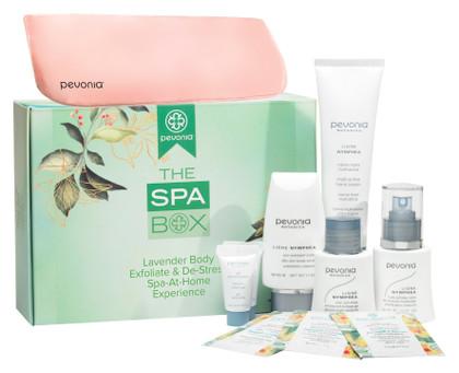 The Spa Box - Lavender Body Exfoliate & De-Stress Box