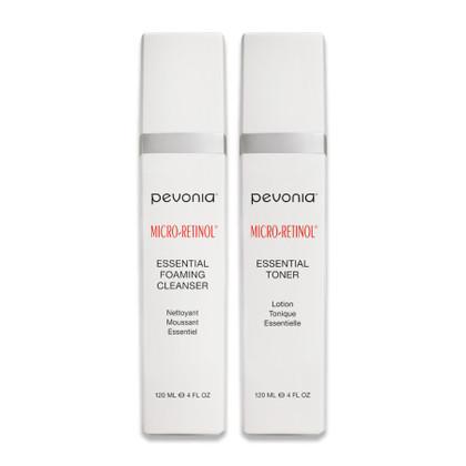 Micro-Retinol Essential Cleanser + Toner Duo