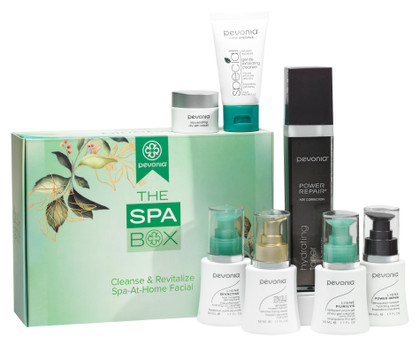 The Spa Box - Cleanse & Revitalize Spa-At-Home Facial
