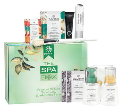 The Spa Box - Fabulous For Sure Super Glow Spa-At-Home Facial