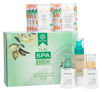 The Spa Box - Let the Sunshine In SOS Spa-At-Home Facial