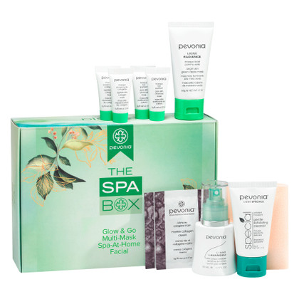 The Spa Box - Glow & Go Multi-Mask Spa-At-Home Facial Experience