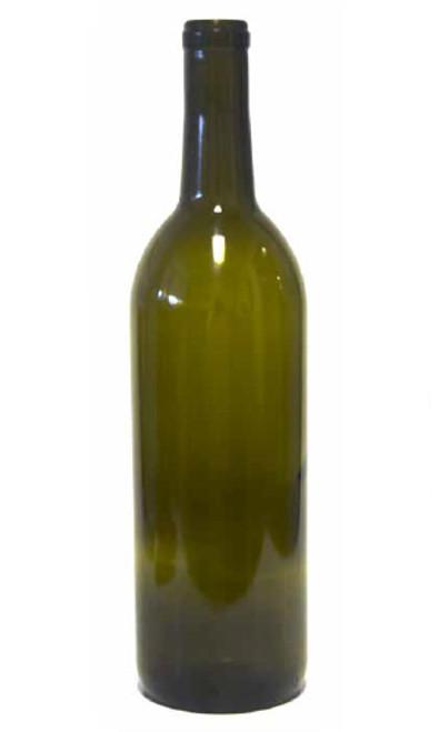 750ml Bordeaux Bottle in Antique Green - #108