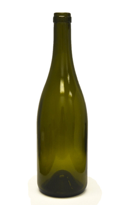 750ml Antique Green Bordeaux Wine Bottle #137CEL - Case of 12