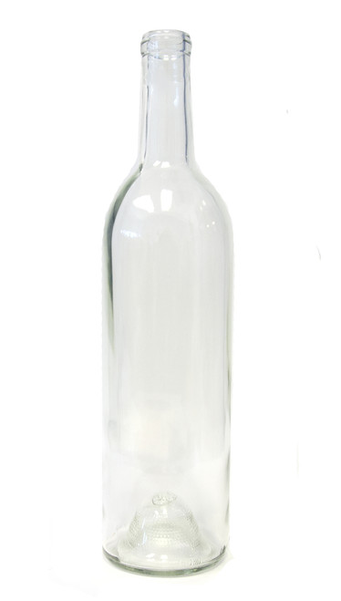 750ml Flint Clear Bordeaux Wine Bottle #133 - Case of 12