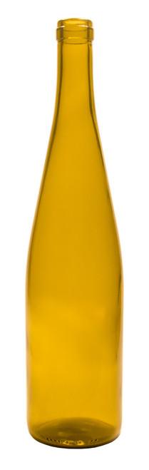 750ml Dead Leaf Green Hock Wine Bottle #1106 - Case of 12