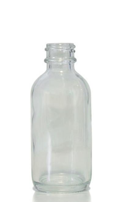 60ml (2oz) Clear Boston Round Bottles - 10% OFF