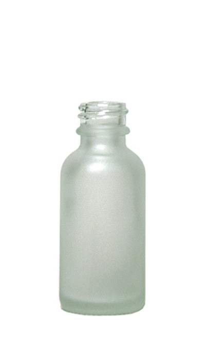 30ML (1oz) Frosted Amber Boston Round Bottles With No Closure