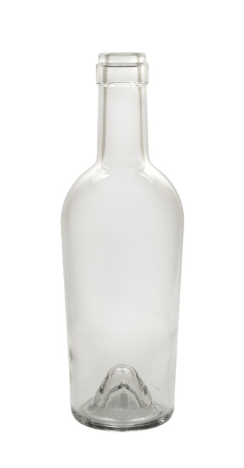 500ml Clear Bordeaux Port Wine Bottle