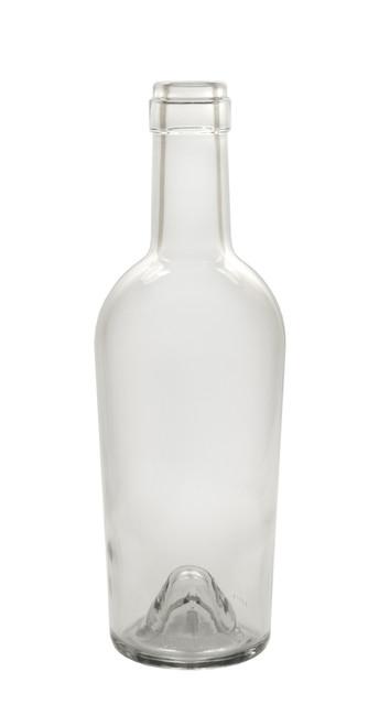 500ml Clear Bordeaux Port Wine Bottle