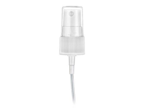 20-400 Ribbed White Fine Mist Sprayer w/cap