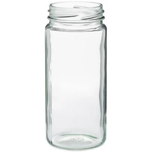 Case of 12 - 8 oz. Glass Paragon Jar (No Cap)