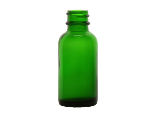 Case Size 360 X 30 ML Lime Green Glass Bottle , 20/400 Finish (1109G-case)
