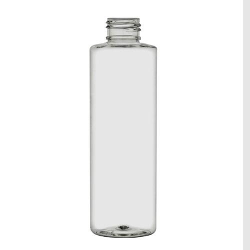 4 oz 120 ml Clear PET Cylinder Plastic Bottle