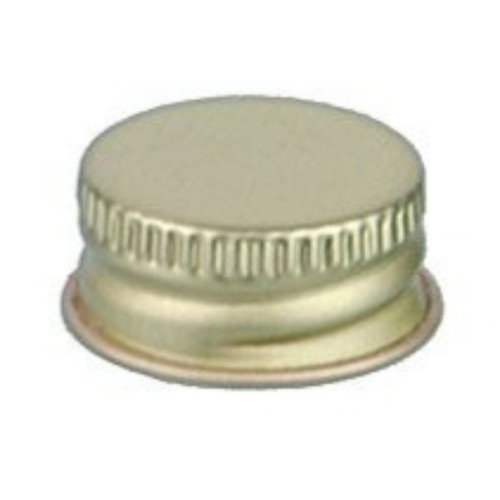 20mm 20-400 Pulp Poly Gold Metal Screw Cap