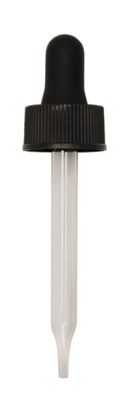 Regular Dropper (Non CRC) for 30ML Boston Round 76mm Pipette with 20-400-neck