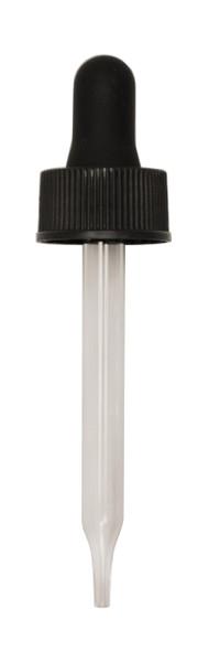 Regular Dropper (Non CRC) for 30ML Boston Round 76mm Pipette with 20-400-neck