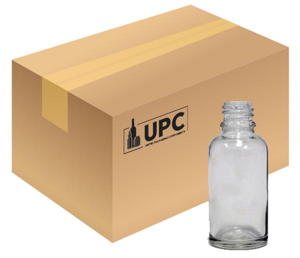60ML (2oz) Clear Boston Round Bottle - Case of 240 - 10% OFF