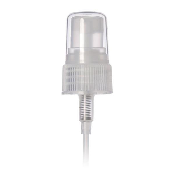 24-410 Ribbed Clear Fine Mist Sprayer w/cap
