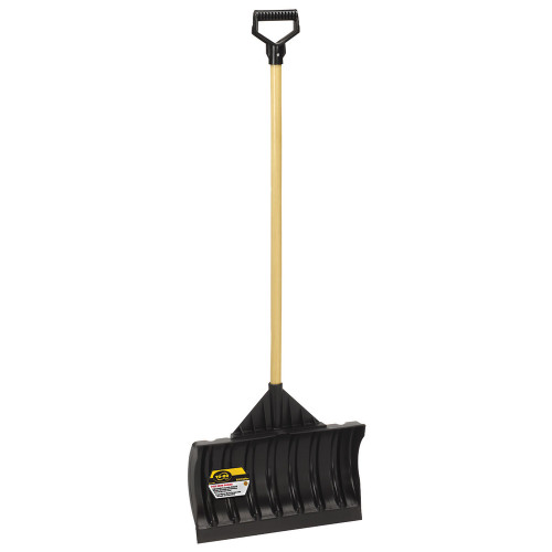 Dual-Purpose Poly Shovel/Pusher