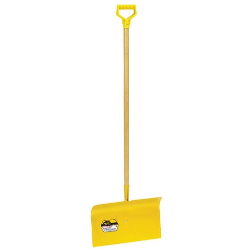 """18"""" Spring Steel Snow Pusher with D-grip"""