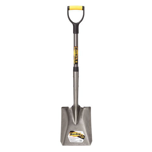 Square Point Shovel, fiberglass D-handle