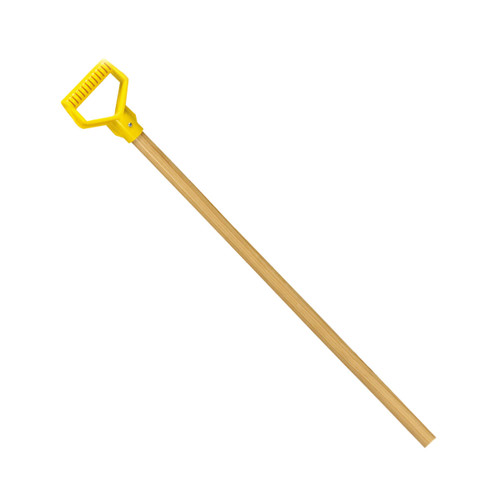 """36"""" Replacement Hardwood Handle, yellow poly D"""