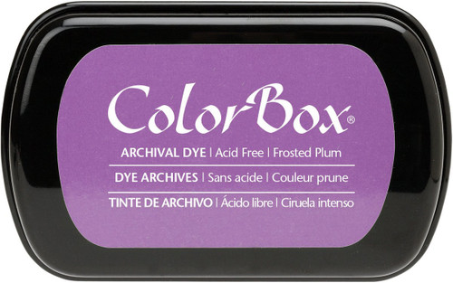 ColorBox Frosted Plum Purple Archival Dye Inkpad by Clearsnap