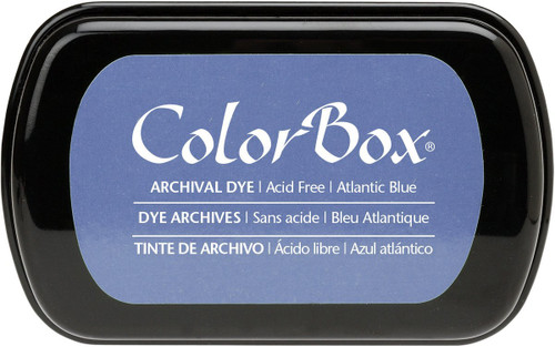 ColorBox Atlantic Blue Archival Dye Inkpad by Clearsnap
