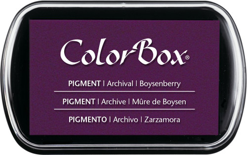 ColorBox Boysenberry Purple Pigment Inkpad by Clearsnap