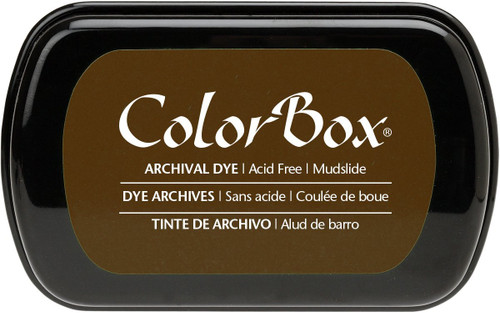 ColorBox Mudslide Brown Archival Dye Inkpad by Clearsnap