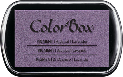 ColorBox Lavender Pigment Inkpad by Clearsnap