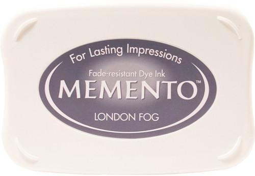 Memento London Fog Gray Dye Inkpad by Tsukineko