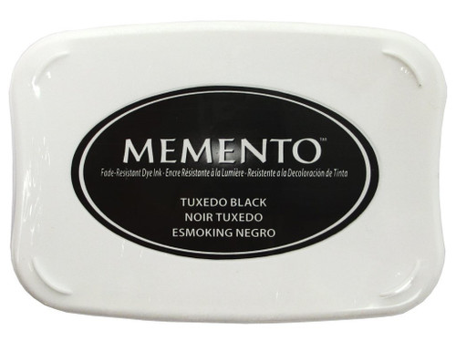 Memento Tuxedo Black Dye Inkpad by Tsukineko