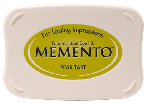 Memento Pear Tart Green Dye Inkpad by Tsukineko