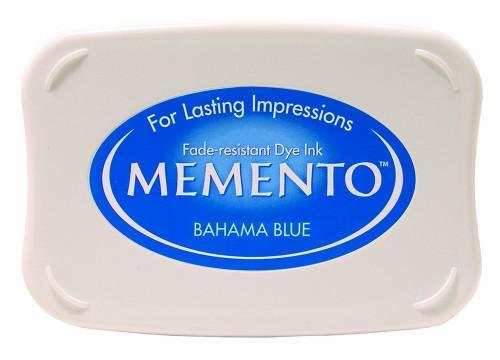 Memento Bahama Blue Dye Inkpad by Tsukineko