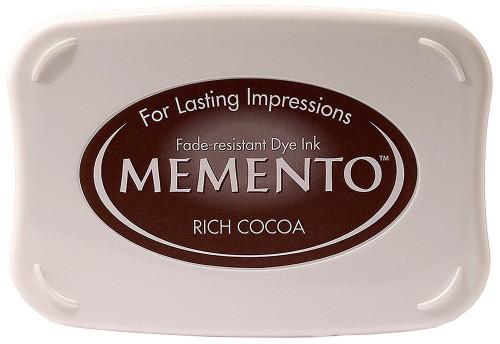 Memento Rich Cocoa Brown Dye Inkpad by Tsukineko