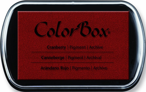 ColorBox Cranberry Red Pigment Inkpad by Clearsnap