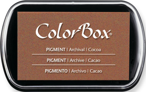 ColorBox Cocoa Brown Pigment Inkpad by Clearsnap
