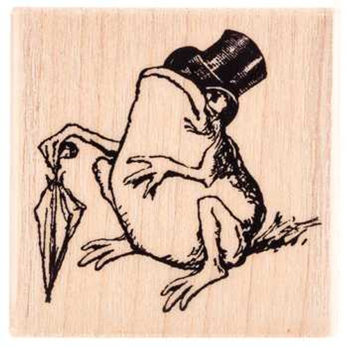 Sir Toad Rubber Stamp by Stampendous