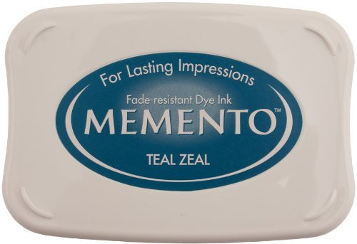 Memento Teal Zeal Blue Dye Ink Pad by Tsukineko