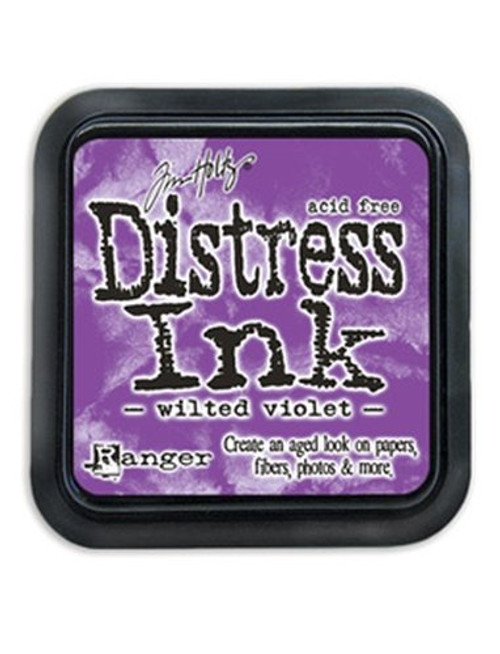 Tim Holtz Wilted Violet Purple Distress Ink Pad by Ranger