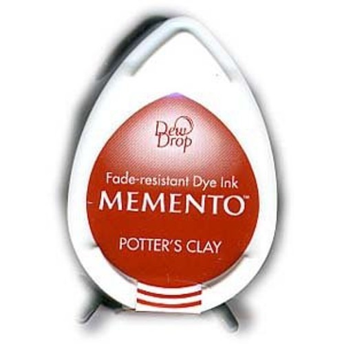 Memento Potter's Clay Terra Cotta Dew Drop Dye Ink Pad by Tsukineko