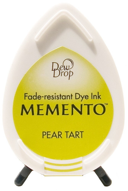 Memento Pear Tart Green Dew Drop Dye Ink Pad by Tsukineko