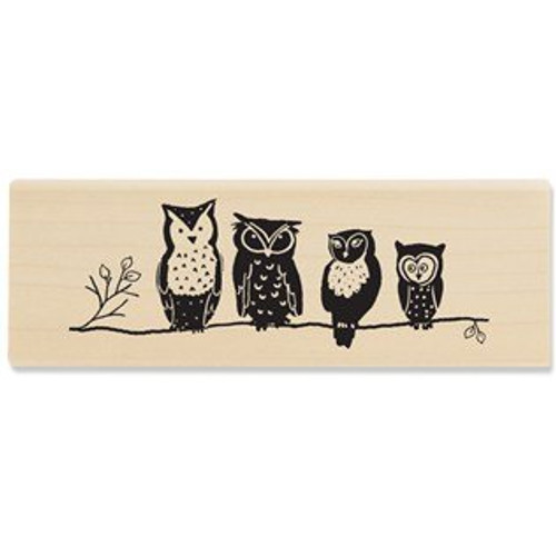 Oooo Are You Wood Mounted Rubber Stamp by Stampabilities