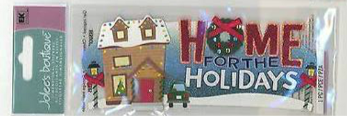 Home for the Holidays Sticker by Jolee's Boutique