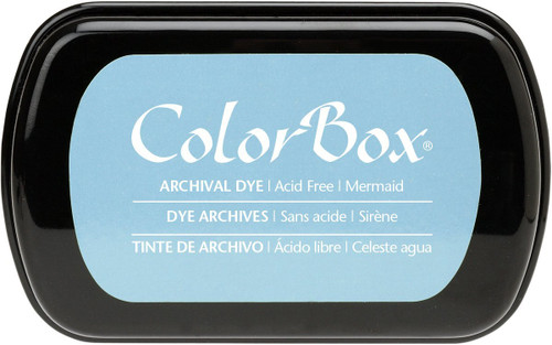 ColorBox Mermaid Blue Archival Dye Inkpad by Clearsnap