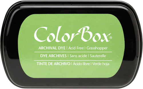 ColorBox Grasshopper Green Archival Dye Inkpad by Clearsnap
