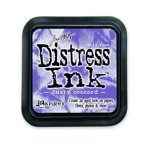 Tim Holtz Dusty Concord Purple Distress Inkpad by Ranger
