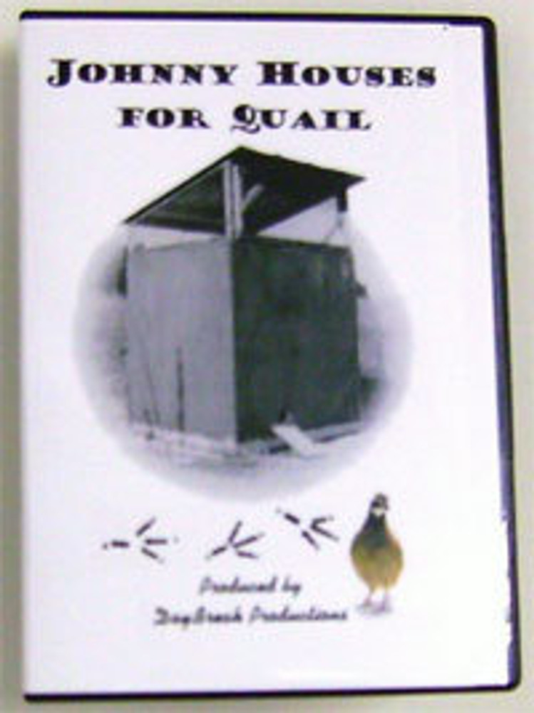 DVD - Johnny Houses For Quail